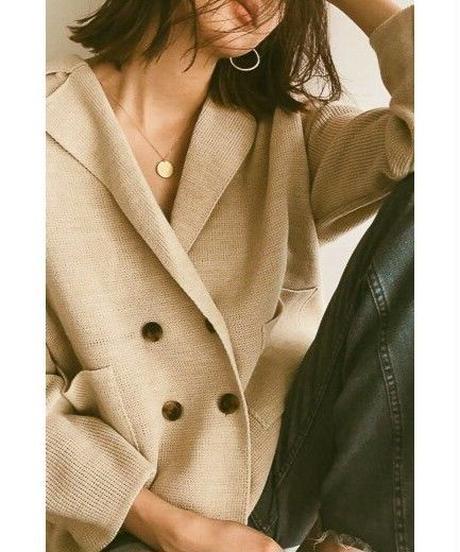 <予約販売>knit jacket