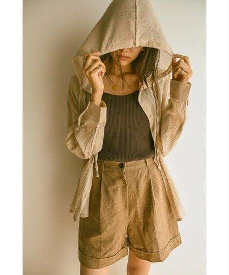 <予約販売>shirt hoody