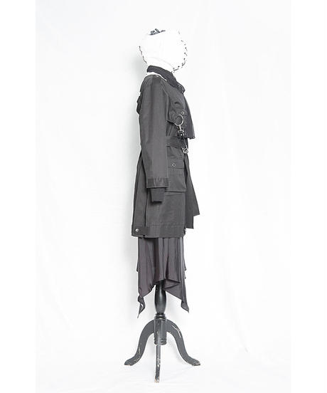 au52-03co03-01/ladies:BK  Model&detail