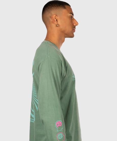 OFFICIAL Reality Distortion Field Longsleeve Shirt (Sage Green)