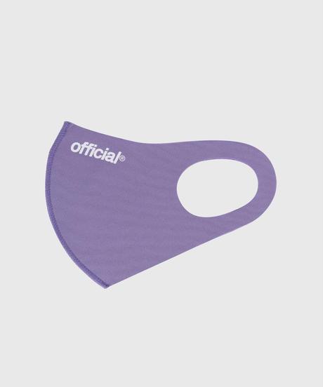 OFFICIAL Nano-Polyurethane Face Mask (Purple) オフィシャル マスク