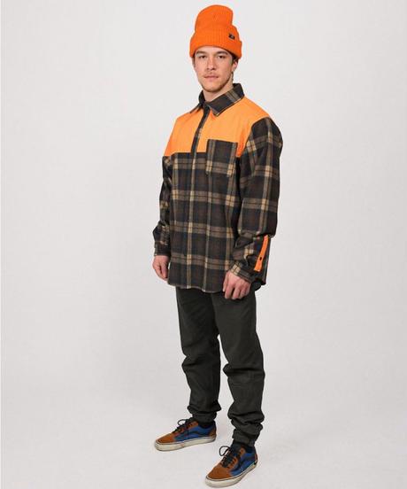 TRACKER FLANNE - Orange