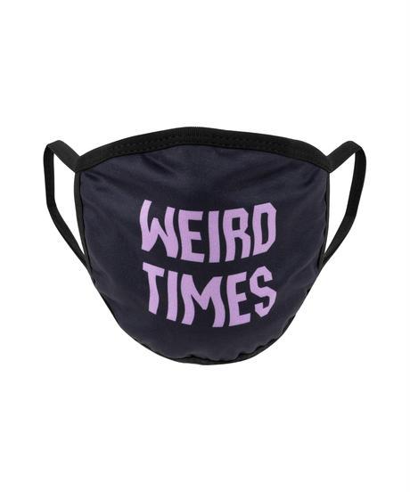 ALL GOOD Weird Times Face Mask