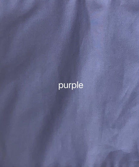 "apron dress ""JEANDREE""  /Purple"