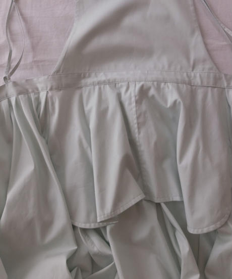 "apron dress ""JEANDREE"" /Mint"