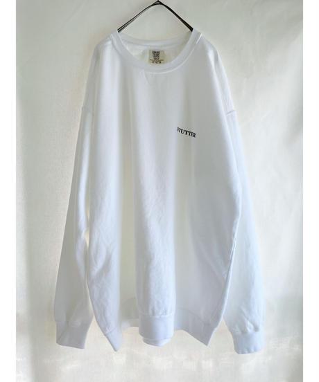 STUTTERイラストガーメントダイスウェット XL ホワイト