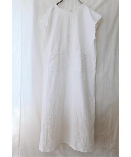 ホソヒモカッポウ  ロング ソデナシ(ホワイト/グレー/チャコール/ブラック/NEWブラウン/スモーキーグレー)
