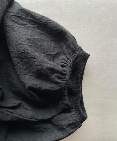 ホソヒモカッポウ  ロング ソデゴム(ホワイト/グレー/チャコール/ブラック/NEWブラウン/スモーキーグレー)