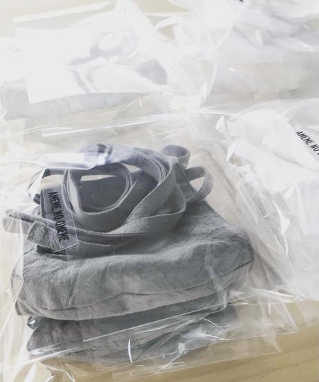 ホソヒモマスク (オフホワイト/グレー/ブラック)