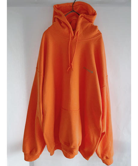 STUTTERイラストパーカー XL セーフティオレンジ