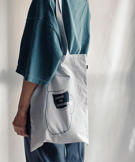AMEOME×ouino  耳飾りトート(ピンク/ホワイト/ブルー)