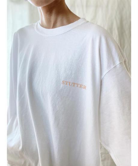 STUTTERロゴロンT XL  ホワイト