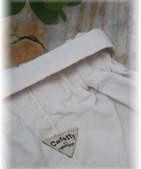 ◇ Cfetty ◇ コットンリネンボリュームワイドパンツ cf352