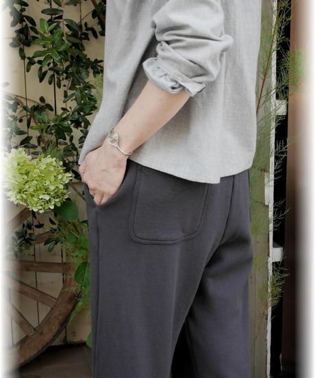 ◇ style+confort ◇ コーマ裏毛リラックスパンツ