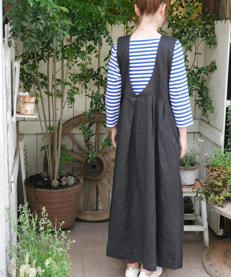 ◇D*g*y ◇ リネンオックスジャンパースカート