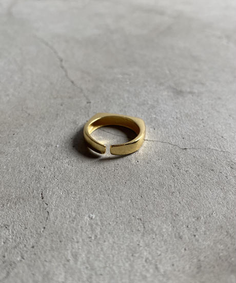 ring-a02020 SV925 Flat Square Ring