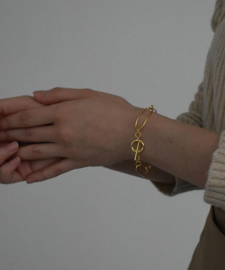 brace-a02011 SV925  Mantel  Wide Chain Brace