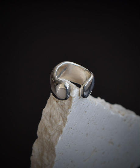 ring-a03001   SV925 coating 2way Pinky Ring