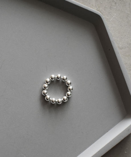ring-a02072  SV925  Ball  Chain Ring 5mm