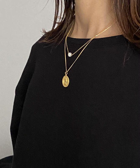 necklace-a02063  SV925  Muse  Coin  Necklace