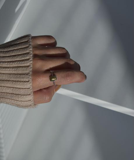 ring-a02077 SV925   Square Metal Ring