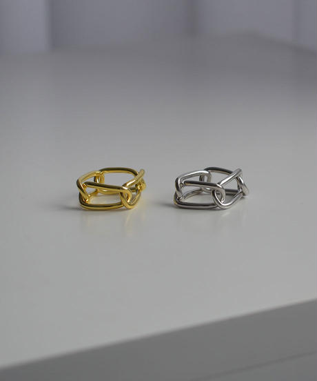 ring-a02101   SV925   Oval Chain  Ring