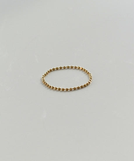 ring-a02093  K18 Ball  Chain Ring