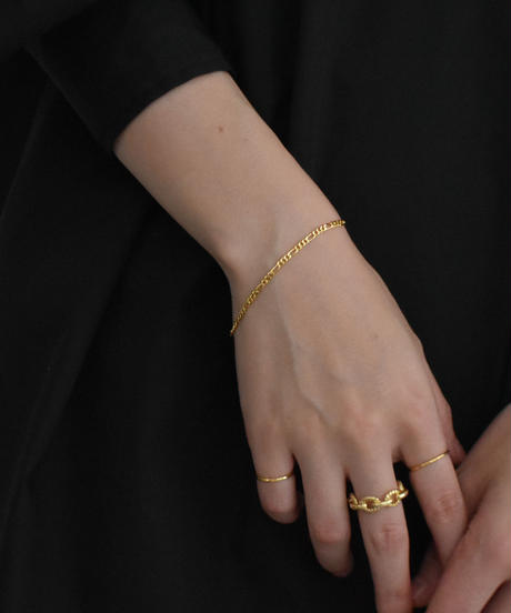 brace-a02009 SV925 Combination Chain  Bracelet