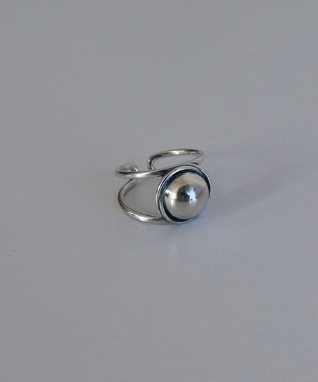 ring-a02091  SV925  Circle  Ball  Ring
