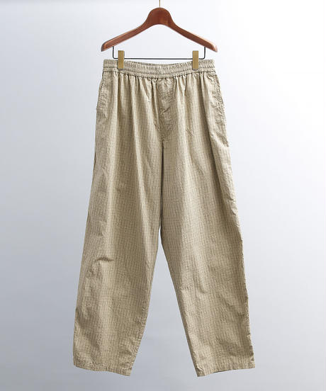 unfil アンフィル / cotton-weather wide tapered easy trousers / WOSP-UM222