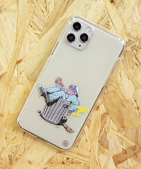 AndArts 「鈴木夏菜 - Rojiura Pizza」 iPhone Case / 104-ART-2004-N-01-0035