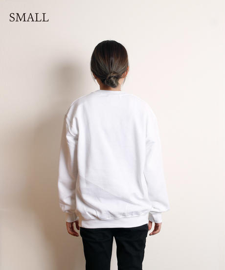 すしお×And A『SiCK & POSiTiVE GiRLS』#3 Graphic Sweatshirt