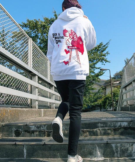 すしお×And A『SiCK & POSiTiVE GiRLS』#3 Graphic Parka