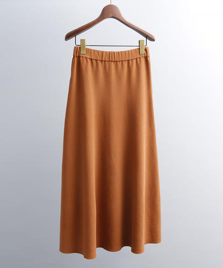 unfil アンフィル / high twist cotton smooth-knit skirt / WOSP-UW122