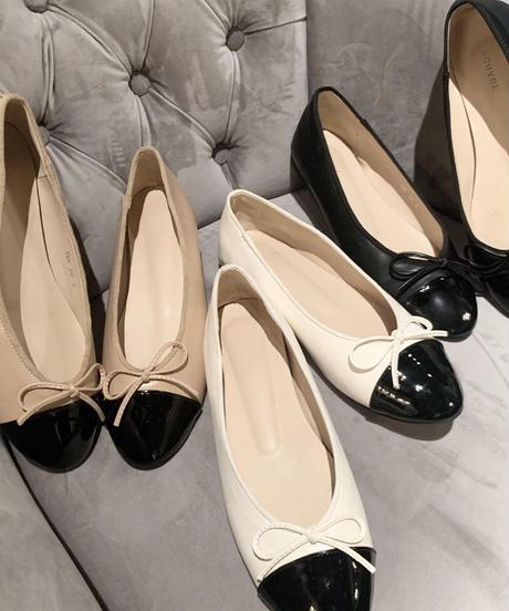 ribbon ballet shoes   (3colors)
