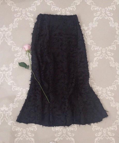 shaggy mermaid skirt (2colors)