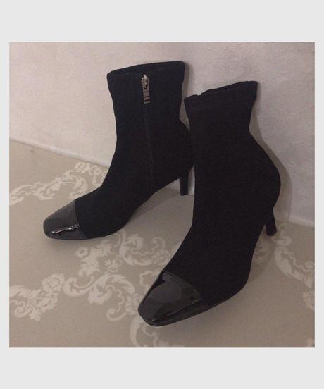 enamel toe short boots