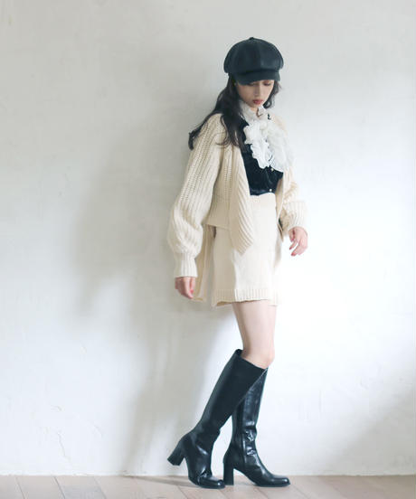 straight long boots(A19-07020K)