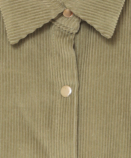corduroy over shirt(A19-06033K)
