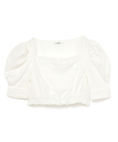 【lottie made】cotton blouse (S19-01065O)