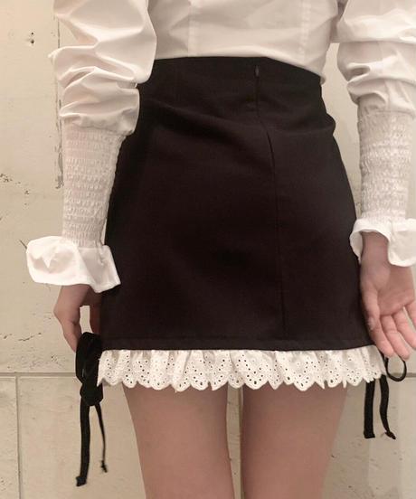 bustier like blouse (rose)