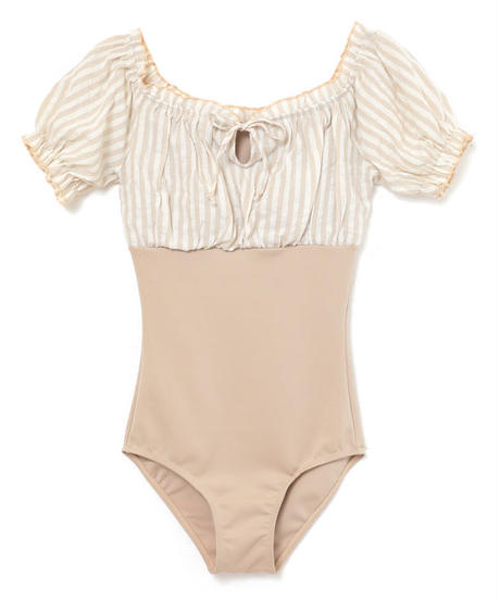 off shoulder frill ribbon swimwear