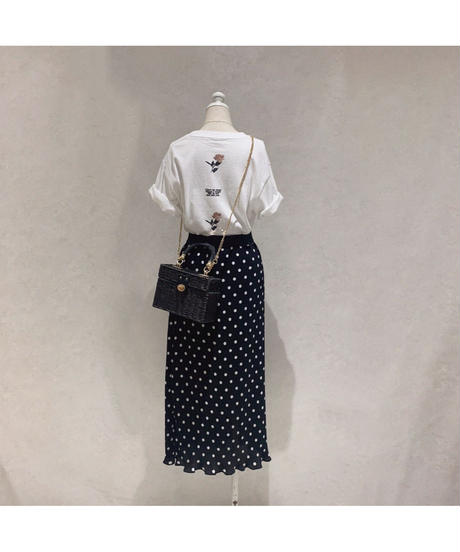 【lottie made】petit rose tee  (S20-01194O)
