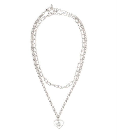 angel double chain neckless(A19-10128K)