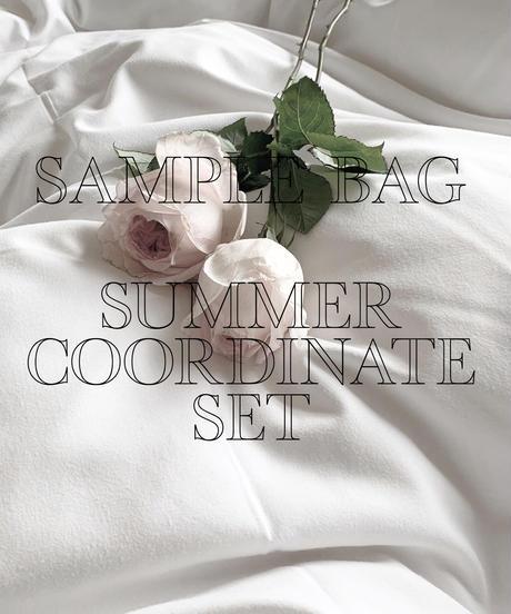 【SAMPLE & ARCHIVE BAG】summer coordinate set