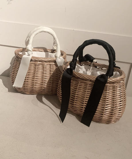 ribbon french basket  (2colors)