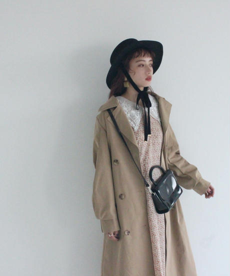 volume trench coat (A19-06029K)