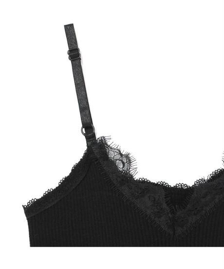 lace rib camisole