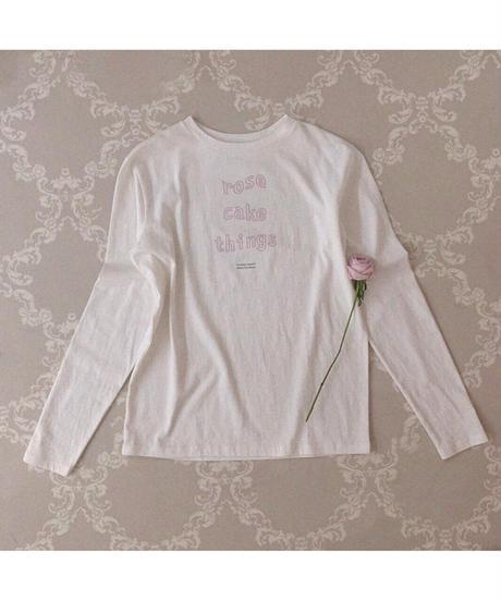 """【lottie】""""rose cake things"""" tee"""
