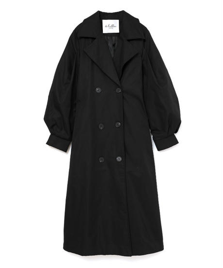 volume trench coat (A19-06029K)-BEG.SOL/F
